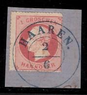 """Hannover, """" HAAREN """" -Luxus-Briefstück , #3149 - Hanover"""