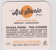 Sous-bocks : Festival ART  SONIC  Briouze, Orne ( Shaka Ponk ,the Avener,les Sheriff,naäman,the Hacker Live,hollie Cook, - Sous-bocks