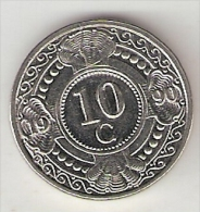 Neth Antilles  10 Cent 1990  Km 34   Bu - Netherland Antilles
