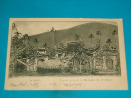 Viet-nam ) Tonkin - Pagode Près De La Montagne De L'eléphant - N° 1318  - Année 1903 - EDIT - - Vietnam