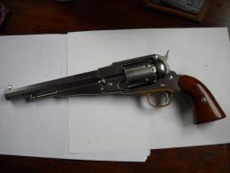 Revolver Poudre Noire Calibre 44 En Inox - Decorative Weapons