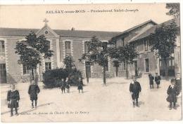 AULNAY SOUS BOIS - Le Protectorat Saint Joseph La Cour - Carte Feuillets Décollés Mais Complete TB - Aulnay Sous Bois
