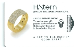 HOTEL SHERATON ISRAEL  llave clef key keycard karte