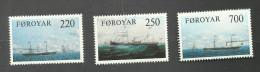 Iles Féroé N°73 à 75 Neufs** Cote 5.25 Euros - Faroe Islands