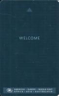HOTEL WELCOME  llave clef key keycard karte