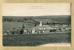 Lacombe Aude (11) Vue Générale Avec Charette De Foin Parfait état - Other Municipalities