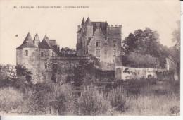 CPA -  182.  Environs De SARLAT -  Château De Fayrac - Sarlat La Caneda