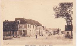 Cpa-60-bresles-animée-un Coin De La Place-edi Vandenhove - France