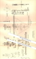 Original Patent - A. Hahn In Kassel , 1877 , Artillerie - Entfernungsmesser , Fernrohr , Visier !!! - Optique