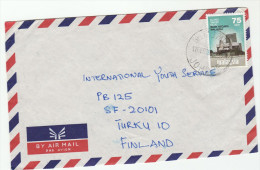 1979 Air Mail MALAYSIA COVER  To Finland 75s Negara BANK Stamps  Malaya - Malaysia (1964-...)