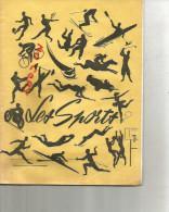 Cahier De Brouillon Les Sports , Tout écrit  , Années 50 - Sports