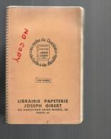 Petit Cahier Petit Carreaux à Ressort Gibert Joseph , Tbe Dans Son Jus - Buvards, Protège-cahiers Illustrés