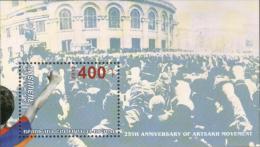"AR 2013 ""25th Anniversary Of Artsakh Movement"",ARMENIA, S/S MNH - Armenien"