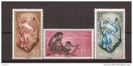 GUI355-L4015.Guinea Guinee GUINEA ESPAÑOLA  DIA DEL SELLO 1955( Ed 355/7**) Sin Charnela.Muy Bonita - Guinea Española
