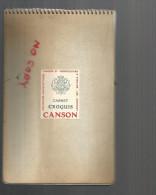 Carnet De Croquis Canson Et Montgolfier , Vendu Pour La Couverture Et Non Le Contenu - C