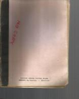 Carnet De Brouillon  , Vendu Pour La Couverture , Prévot  Librairie Papeterie Beauvais  Et Non Le Contenu - C