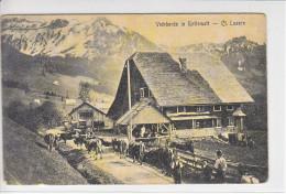 ENTLEMATT - FERME - VACHES - ANIMEE- 19.07.06 . (timbre Arrache) - LU Lucerne