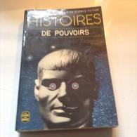 Romans  HISTOIRES  DE  POUVOIRS - Livres, BD, Revues