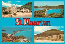 Antilles Neérlandaises - Saint Martin - Saint Marteen - Scenic View - Multivues - Semi Moderne Grand Format - Bon état - Saint-Martin