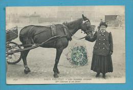 CPA 2276 PARIS NOUVEAU - Métier Les Femmes Cocher Mme CHARNIER - Petits Métiers à Paris