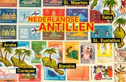 Antilles Neérlandaises - Saint Martin - Saint Marteen - Nederlandse Antillen - Semi Moderne Grand Format - Bon état - Saint-Martin