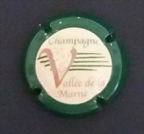 Capsule De Champagne - Vallée De La Marne Contour Vert, Voir Description - Vallée De La Marne