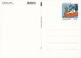 2002 Stationery Postcard Mint - Carte Postale Rasmus Klump Cirkeline Cartoon Comics