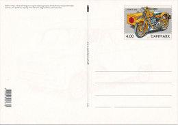 2002 Stationery Postcard Mint - Carte Postale Nimbus Motorbike Bedford Van Postal Service