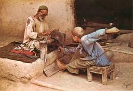 Afghanistan - Métiers - Rémouleurs - Rémouleur - Artisan De Pêre En Fils - Semi Moderne Grand Format - état - Afghanistan