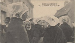TOUTE LA BRETAGNE - D22 - LANNION - ETUDE DE COIFFES - Costumes