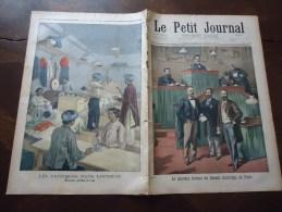 Du 17 Juin 900 - Le Petit Journal Supplément Illustré - EXPOSITION DE 1900, Pavillon De La Perse - Le Nouveau Bureau Du - Le Petit Journal