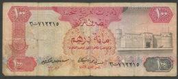 U.A.E. EMIRATS ARABES UNIS P10a   100  DIRHAMS    1982   FINE - Emirats Arabes Unis