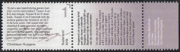 Nederland - Brieven Schrijven – Christiaan Huygens – Tekstfragment - MNH - NVPH 3324 - Schrijvers