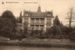 BELGIQUE - HAINAUT - MERBES-LE-CHATEAU - Propriéte De Mr. Marquet. - Merbes-le-Château