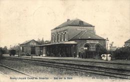 BELGIQUE - LIMBOURG - LEOPOLDSBURG - BOURG-LEOPOLD -  BEVERLOO - Vue Sur La Gare. - Leopoldsburg (Camp De Beverloo)