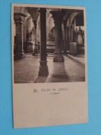 Eglise De LOBBES - La Crypte ( L. Cordier - Blampain ) Anno 1950 ( Zie Foto Details ) !! - Lobbes
