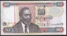 Kenya 50 Shillings 2010 P47e UNC - Kenia