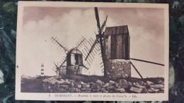 Ouessant.moulins à Vent Et Phare De Créac´h - Ouessant