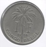 CONGO - ALBERT II * 1 Frank 1926 Frans * Prachtig * Nr 3089 - 1910-1934: Albert I