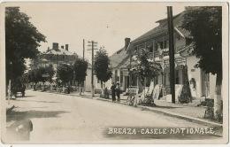Real Photo Breaza Casele Nationale Postally Used 1938 - Roumanie