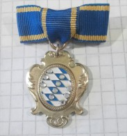 Wappen, Medaille Bayern Deutschland / Coat Of Arms, Medal Bavaria Gereman / DESCHLER - Alemania