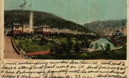 CPA  De 1907  -   Etats-Unis -    CO  -   COLORADO  -   Hôtel  Glenwood Springs - Colorado Springs
