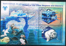 H1349 Hungary 2009 To Protect Polar Glaciers And Animal M New 0203 - Ungebraucht
