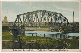 Brug Over De Eendracht Verbinding Tholen Met N- Brabant Used St Annaland 1929 - Autres