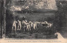 En Forêt De BRETEUIL - Cerf Aux Abois - équipage Du Marquis De Chambray - La Dernière Chasse - Breteuil