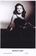 JEANNE CRAIN - Film Star Pin Up - Publisher Swiftsure Postcards 2000 - Postales