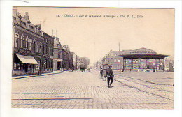 59 _  CROIX  _  Rue  De  La  Gare  Et  Le  Kiosque  _ - France
