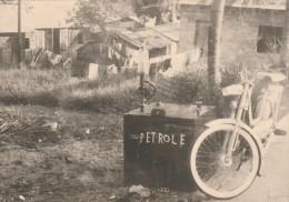 PHOTO 12.5 Par 18 Cms AFRIQUE LIBREVILLE GABON STATION ESSENCE - Africa