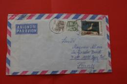 LETTER LETTRE DE YOUGOUSLAVIE  JUGOSLAVIJA->BOUC BEL AIR FRANCE ->MARCOPHILIA - Covers & Documents