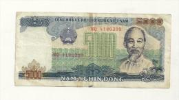 Billet De Valeur 5000 - Viêt-Nam
